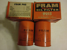 FRAM PH5 Engine Oil Filter Spin-on, 1959-1962 Buick Cadillac Oldsmobile Pontiac