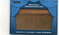 DENZEL WASHINGTON 2010 RAZOR AUTHENTIC CELEBRITY-WORN WARDROBE MEMORABILIA RELIC