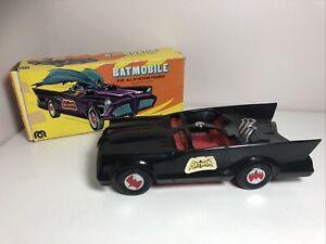 """1974 Vintage Mego Batman ✧ BATMOBILE For 8"""" Figures DC Comics Boxed"""
