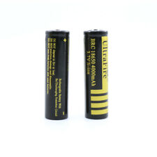 2X 18650 4000mAh 3.7V Rechergeable Battery Li-ion lithium Batteries Replacement