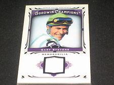 Gary Stevens Racing Legend Certified Authentic Player Worn Memorabilia Card