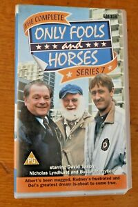 BBC 7015 VHS Tape Box Set Only Fools & Horses 6 Classics Complete Series 7