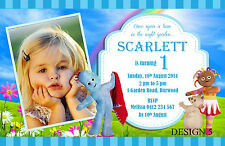 in The Night Garden Birthday Invitations Cards Invites Party Supplies 1st First