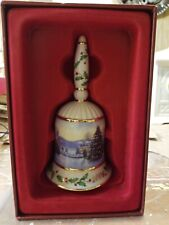 "Lenox Annual 2006 Holiday Collector Bell ""Christmas Eve On Main Street"" Nib"