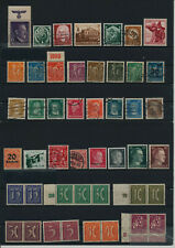 Germany, Deutsches Reich, Nazi, liquidation collection, stamps, Lot,used (EA 15)
