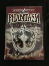 PHANTASM III: LORD OF THE DEAD DVD, 2007, Unrated Directors Cut Anchor Bay Coll.