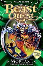 Beast Quest: Mortaxe : The Skeleton Warrior 6 by Adam Blade (2014, Paperback)