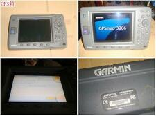 LCD Little Pressure Traces Garmin GPSmap 3206 Marine GPS(Video Plug Damage)