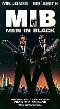Men In Black (Vhs, 1997) Brand New