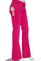 jeans femme evasé rose fushia CIMARRON W 30 taille 40
