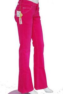 jeans femme evasé rose fushia CIMARRON W 31 taille 40 -  42