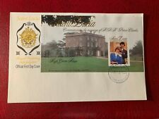 ST LUCIA 1981 FDC PRINCE CHARLES PRINCESS DIANA WEDDING ROYALTY BOOKLET 01