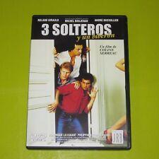 DVD.- 3 SOLTEROS Y UN BIBERON - COLINE SERREAU - NOMINADA AL OSCAR - DESCATALOGA