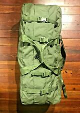Authentic Military Issue Enhanced Deployment Duffel Bag Backpack w/ Zipper