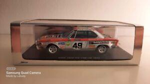 1:43 BMW 2800CS #49 SPARK Heyer/Herzog LeMans24H 1972 MEGARAR OVP