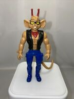 "Vintage Biker Mice from Mars THROTTLE 4"" Bendy/ Bendable GALOOB Figure 1994"