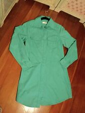 SALE  cotton on  aqua green shirt dress or really long shirt M