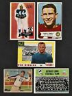 Matesic: National Chicle Trading Card 1935: low grade + 5 other football cards
