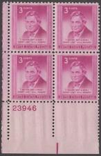 Scott # 975 - Us Plate Block Of 4 - Will Rogers - Mnh - 1948