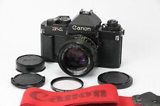 Canon New F-1 Spiegelreflexkamera mit Eye Level Finder und Objektiv FD 50mm 1,2