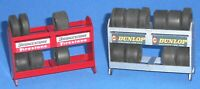 1:32 Scale Tyre Rack Accessory -  for Scalextric/Other Static Layouts