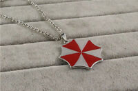 COLLANA RESIDENT EVIL UMBRELLA 2 3 CIONDOLO COSPLAY NECKLACE ZOMBIE BIOHAZARD #1