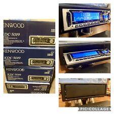 Old School Car Audio! Nos Nib Vintage Kenwood Mask Kdc-5019 Cd Receiver, Sq,eq