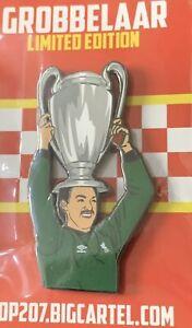 Liverpool Fc KOP207 Bruce Grobbelaar Pin Badge Not Kopbadges