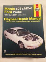 Mazda 626 MX-6 Ford Probe 1993-2001 Haynes Repair Service Workshop Manual 9805