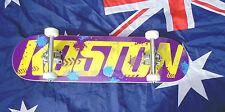 Koston Skateboard Pro Quality  abec11 bearings 100a wheels Reverse pin truck WOW