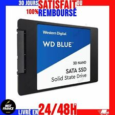 """Disque Dur Interne SSD 250Go 500Go 1To 2To 4To WD Blue M.2 SATA 2,5"""" 3D NAND"""