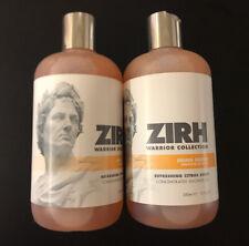 Zirh Warrior Collection Julius Caesar Concentrated Shower Gel 2 Pack-24 Total Oz