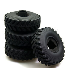 4Pcs 2.2Inch 40mm Rubber Tyres w/ foam inserted for Axial Wraith RC Crawler Car