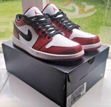 Nike Air Jordan 1 Low Chicago Mens US 9 custom