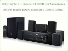 RCA HomeTheater Bluetooth Wireless System Dolby Digital Surround Sound Speakers