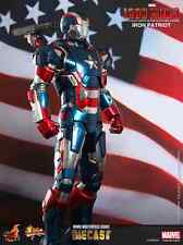 Iron Man Iron Patriot Hot Toys MMS195 Diecast The Iron Man 3 MISB
