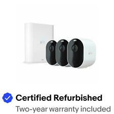 Arlo VMS4340P-100NAR Pro 3 Wire-Free 3 Camera System - Certified Refurbished