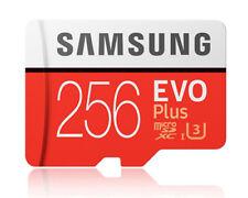 Samsung EVO Plus 256GB 256G micro SD micro SDXC Flash Memory Card 100MBs Class10