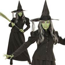 Hexe Kostüm M (38/40) Halloween Damen Hexenkostüm Hexen Zauberin Magierin #7448