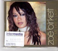 (FK490) Zoe Birkett, Treat Me Like A Lady - 2003 CD