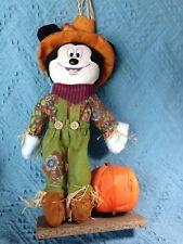 Vintage Kcare Kiu Hung Industries Walt Disney Mickey Mouse Scarecrow Decoration