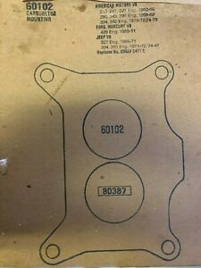 FEL-PRO CARBURETOR BASE MOUNTING GASKET (60102)