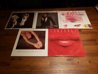 Vinyl LP Lot ROGER DALTREY Best Bits, Parting Easy, Moon, Fandango VG+/VG++