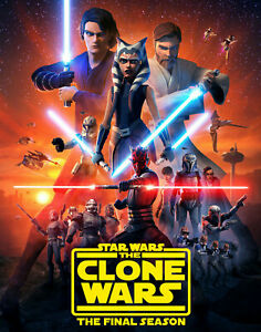 Star Wars The Clone Wars Final Season 7 on BD Collectibles ** LOOK ** NEW