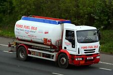 Truck Photo 12x8 - Iveco - Ford Fuel Oils - N2 HBL