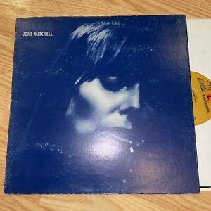JONI MITCHELL BLUE 1ST PRESS 1971 VINYL LP REPRISE MS-2038 VG+/VG+