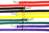 11ft Police Style Dog Training Lead,Leash 25mm Cushion Webbing Various Colours