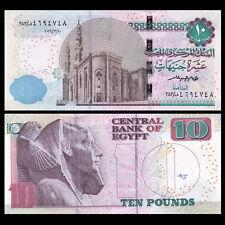 Egypt 10 Pounds, 2016-2017, P-64 NEW, UNC