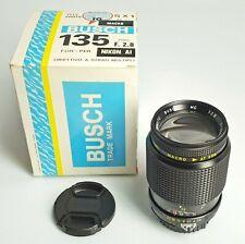 BUSH TELE PHOTO 135/2,8 per Nikon AI-S