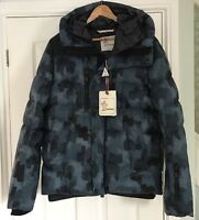 """Moncler Grenoble Mens Rodenberg Quilted Down Hood Jacket Coat Sz 2 38""""£1225 New"""